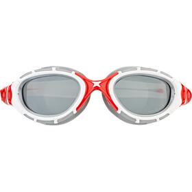Zoggs Predator Flex Goggle Polarized red/white